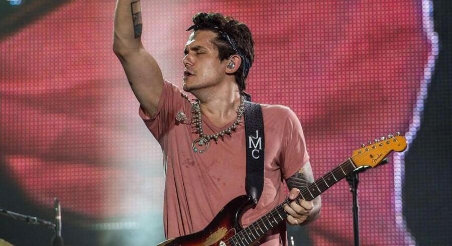 ARKIVFOTO. John Mayer ved Rock in Rio-festivalen i Rio de Janeiro, Brasilien, i september.