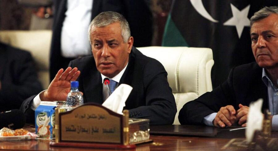 Libyens premierminister Ali Zeidan