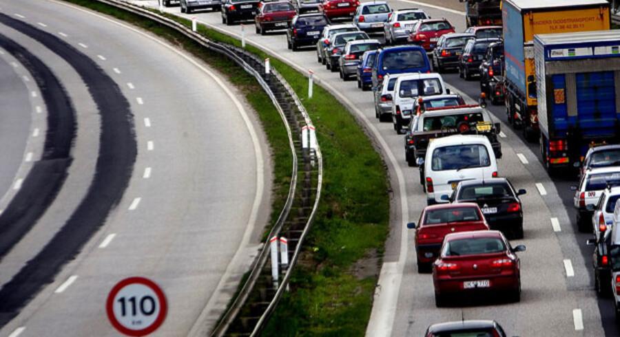 Holbæk-motorvejen bliver efter planerne et spor bredere.