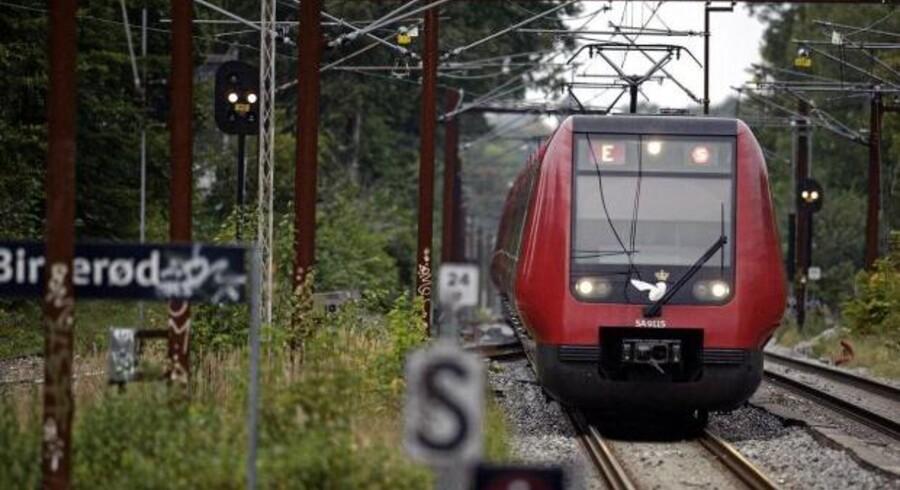 S-togene på linie E var onsdag på ny ramt af forsinkelser på grund af kabeltyverier.