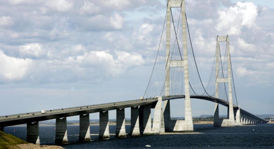 Om 15 år er Storebæltsbroen betalt, men det bliver turen over den ikke gratis af.