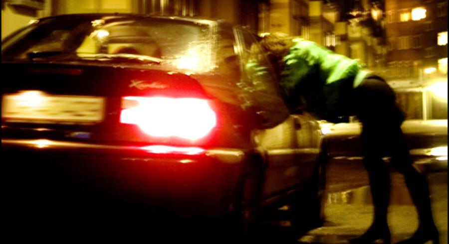 Antallet af gadeprostituerede i Danmark overstiger langt antallet i vores nordiske nabolande.