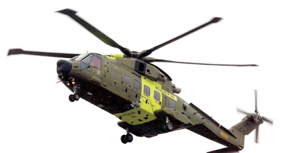 Først på året fik alle forsvarets nye EH101-helikoptere flyveforbud efter en nødlanding i Billund.