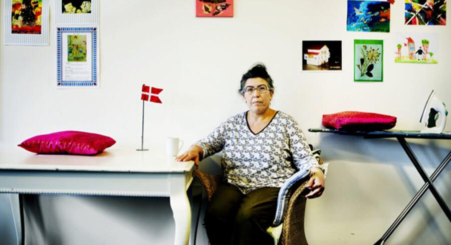 Vahide Kilic har ikke arbejdet i 12 år. Førtidspension er meget eftertragtet i hendes omgangskreds, hvor  kvinderne ifølge Vahide er vant til at passe hjemmet i stedet for at gå på arbejde.