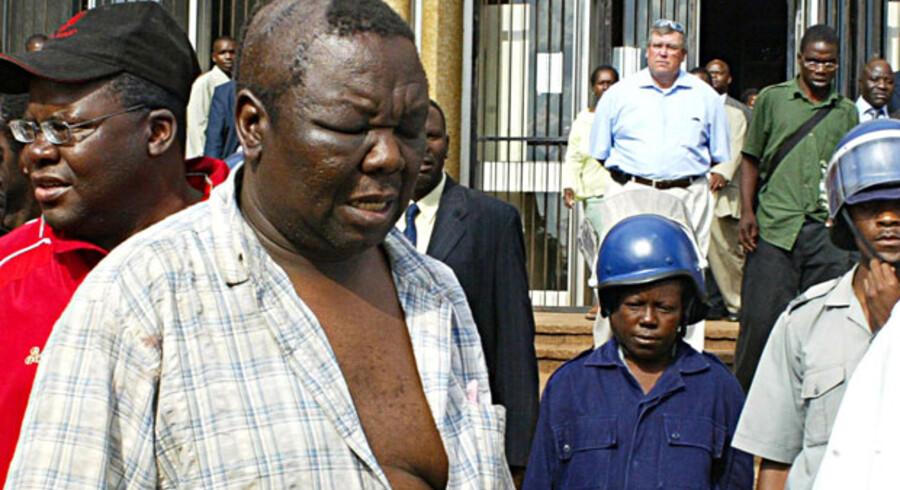 Tsvangirai er selv et eksempel på den vold og tortur der finder sted i Zimbabwes fængsler.