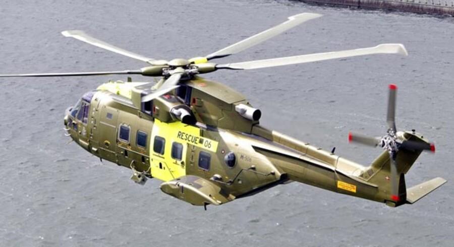 Forsvarskommandoen mener ikke, at de nye helikoptere kan løse deres opgaver.