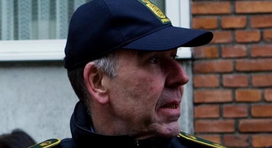 »Det værste er, at vi ser flere grove voldssager, hvor kniven kommer frem og bliver brugt,« siger chefkriminalinspektør Per Larsen.