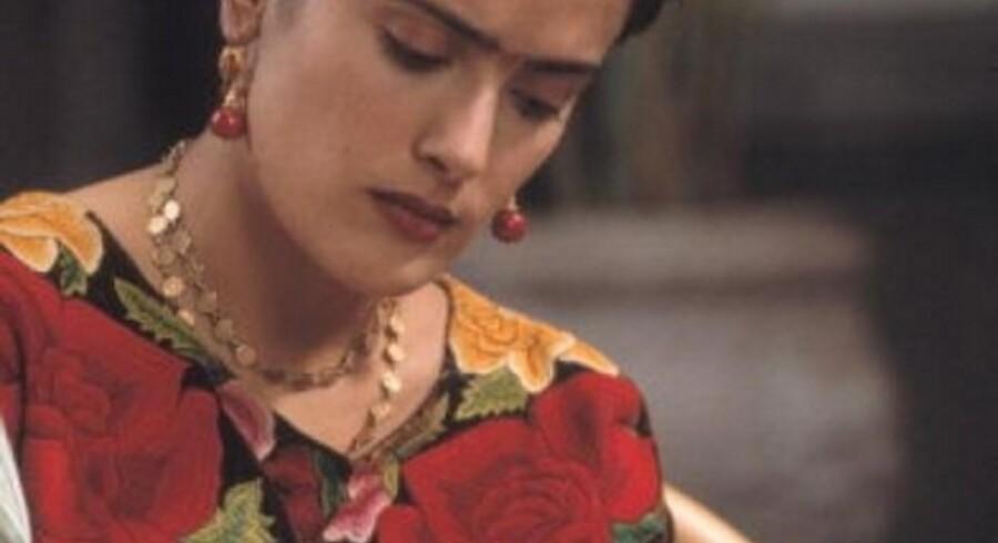 Salma Hayek i rollen som Frida Kahlo.<br>Foto: Scanpix