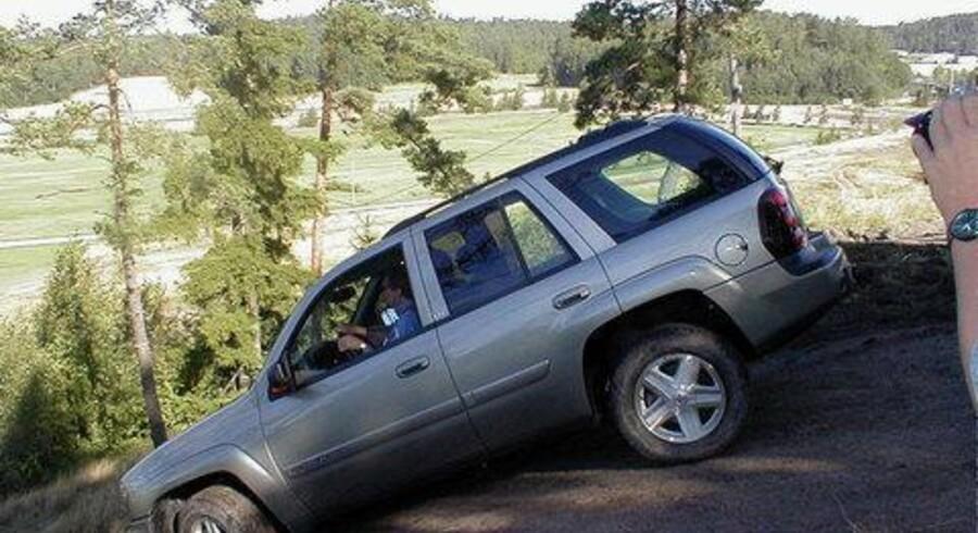 Chevrolet Trailblazer forekomme stor efter danske forhold, men hjemme i USA er det nærmest en lille firehjulstrækker.