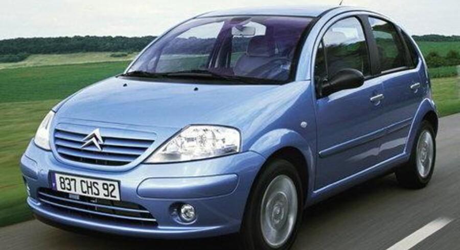 Den helt nye Citroën C3 kan ses på »Biler i Bella«. Minibilen kaldes af nogen en moderne 2CV.