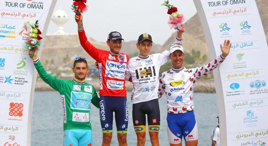 Spanieren Rafael Valls (Lampre) vandt løbet Tour of Oman.