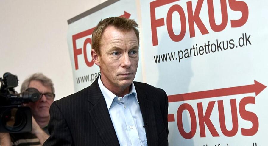 ARKIVFOTO. Den tidligere DF'er Christian H. Hansen langer hårdt ud efter de borgerlige politikere og 2020-forhandlingerne i Finansministeriet
