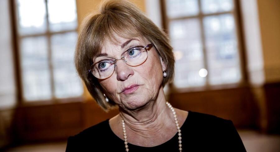 Pia Kjærsgaard, Dansk Folkeparti og formand for Folketinget.