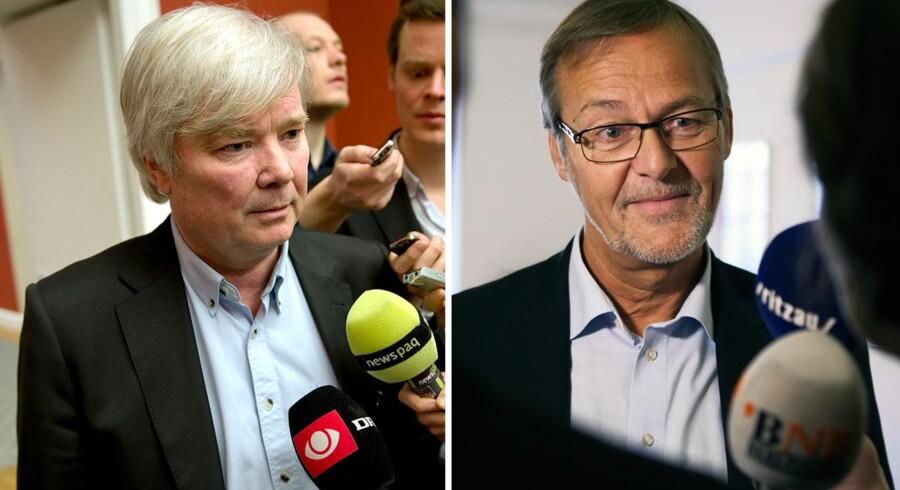 Eyvind Vesselboe (V) og Ole Sohn (S).