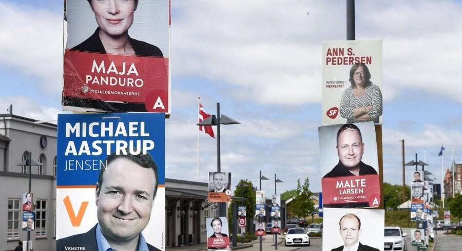 Folketingsvalg 2015. Valgplakater. Nu skal de ned. Ellers vanker der bøder ...