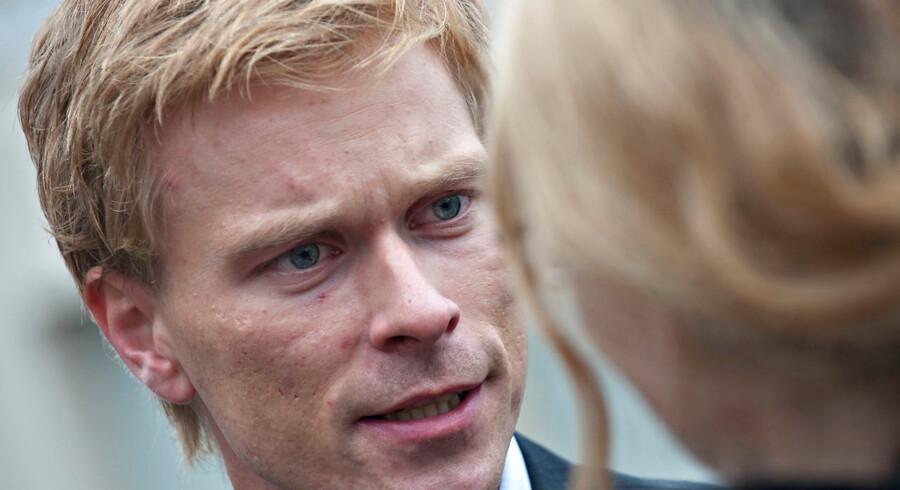 ARKIVFOTO 2010 af Thomas Banke- - Se RB 13/1 2013 11.49. Thomas Bankes fremtid inden for politik er uvis, efter han søndag meldte ud, at han forlader Fredericia byråd. (Foto: Claus Fisker/Scanpix 2013)