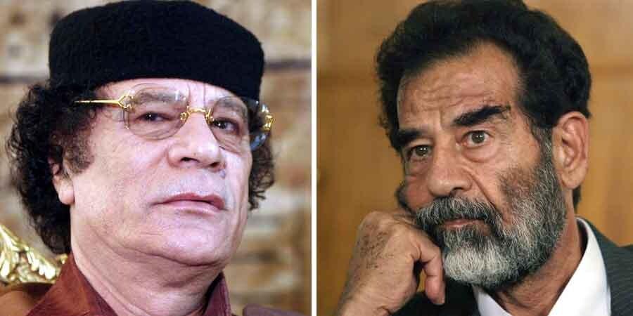 Både Gaddafi og Sadm Hussein var at foretrække frem for demokratisk valgte islamister, mener Dansk Folkeparti.