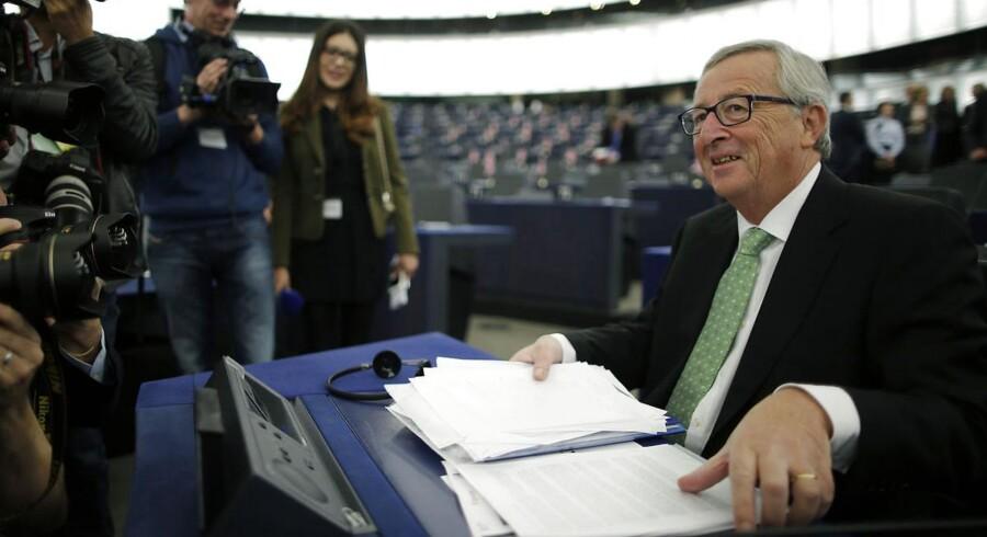 ARKIVFOTO. Europa-Parlamentet har ved en afstemning godkendt kommen kommissionsformand Jean-Claude Junckers kommissærer.