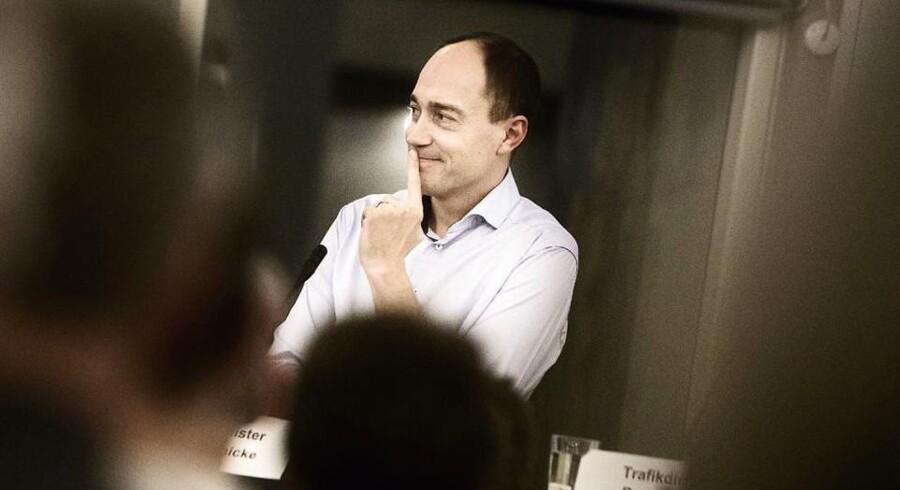 Transportminister Magnus Heunicke.