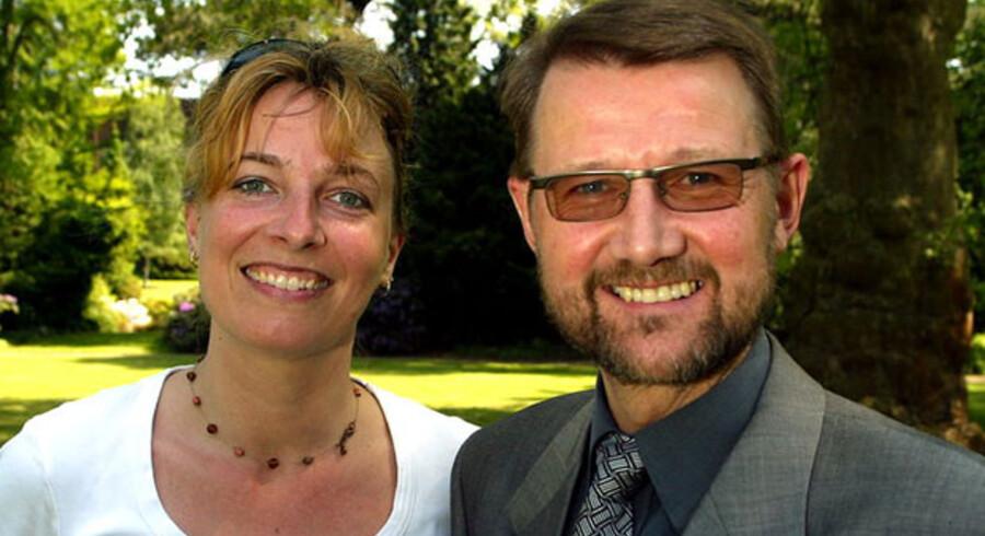 Christine Antorini og Helge Sander i 2003, kort efter at Antorini var udnævnt  til formand for en europæisk tænketank  om forskning.
