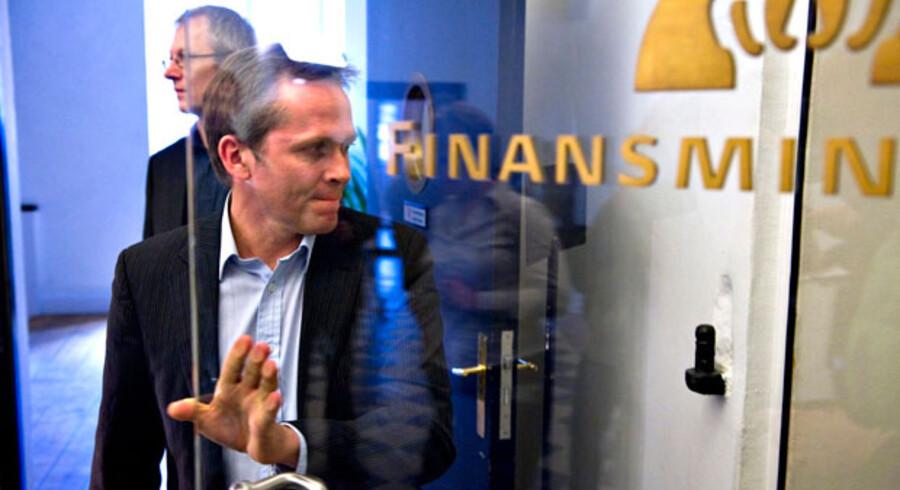 Politisk leder af Liberal Alliance, Anders Samuelsen, er stadig med i forhandlingerne.