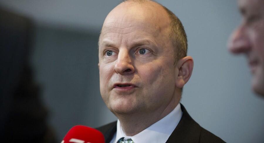 Dansk Industris direktør, Lars Goldschmidt, vil være Socialdemokraternes spidskandidat på Bornholm.