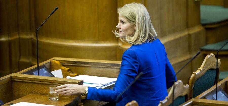 Spørgetime med statsministeren Helle Thorning-Schmidt.