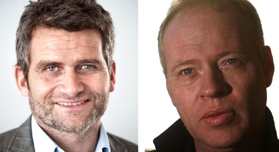Michael Ulveman (TV) og Michael Kristiansen (TH).