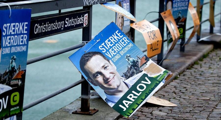 Arkivfoto. Rasmus Jarlov stillede i november op til kommunalvalget, hvor han blev valgt ind i Københavns borgerrepræsentation.
