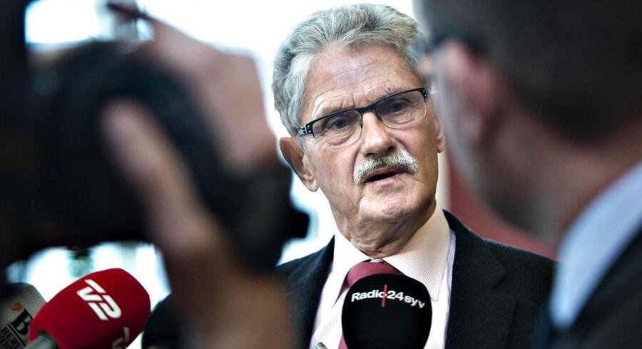 Folketingets formand Mogens Lykketoft fastslår ved en pressebriefing på sit kontor, at Rigsrevisionens undersøgelse af solcellesagen også kan omhandle lovforberedende arbejde.