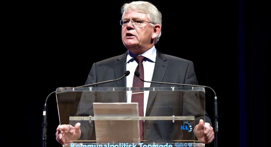 »Vi skal gøre op med socialpolitikken som en tjekliste af ydelser og i stedet taget afsæt i, at velfærdssamfundet er skabt af aktive borgere, der kan og vil selv,« siger KL-formand Erik Nielsen (S) på Kommunalpolitisk Topmøde i Aalborg.