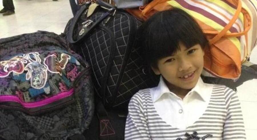 Otte-årige Im var fredag klar til at lette med flyveren fra Bangkok for at komme hjem til sine klassekammerater i Danmark.