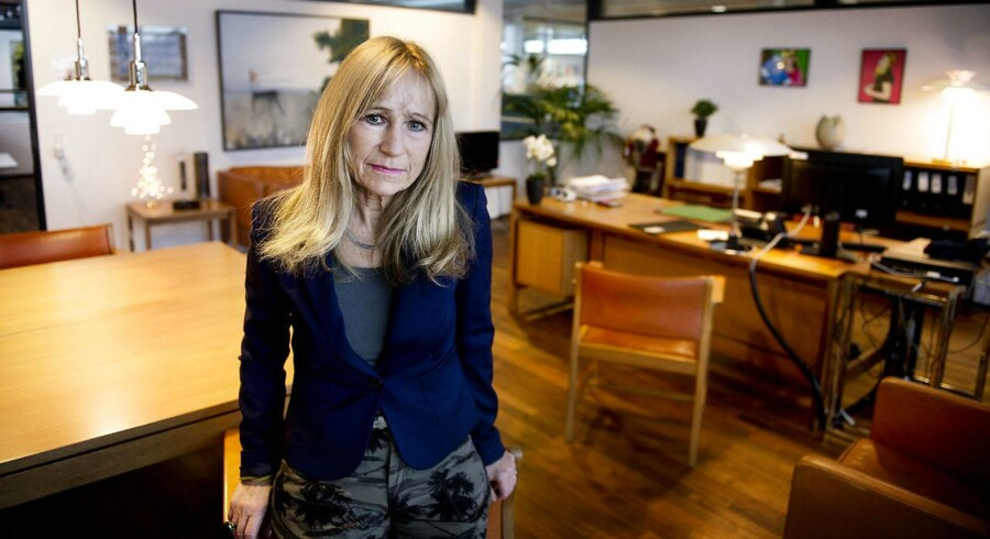 Byrådsmedlem Lea Herdal på borgmesterkontoret i Allerød. Hun skal som byrådsmedlem muligvis stå for lodtrækningen af borgmester.