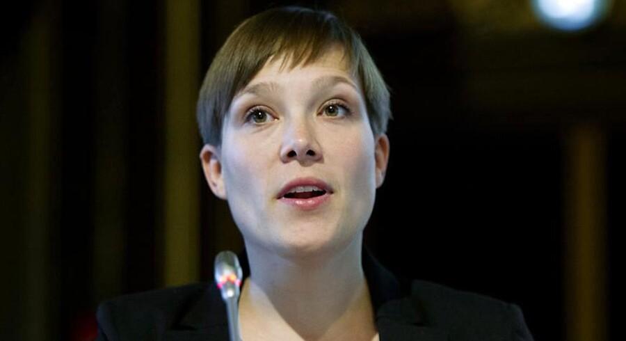 ARKIVFOTO. Sundhedsminister Astrid Krag (SF).