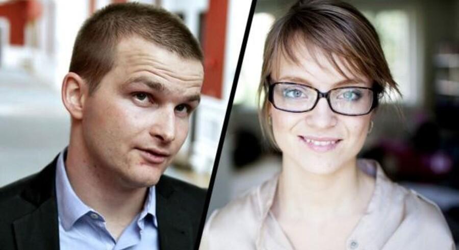 Skatteminister Thor Möger Pedersen (SF) skal smedes sammen med sin kæreste gennem flere år Nanna Westerby.