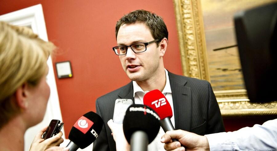 SF's politiske ordfører, Jonas Dahl.
