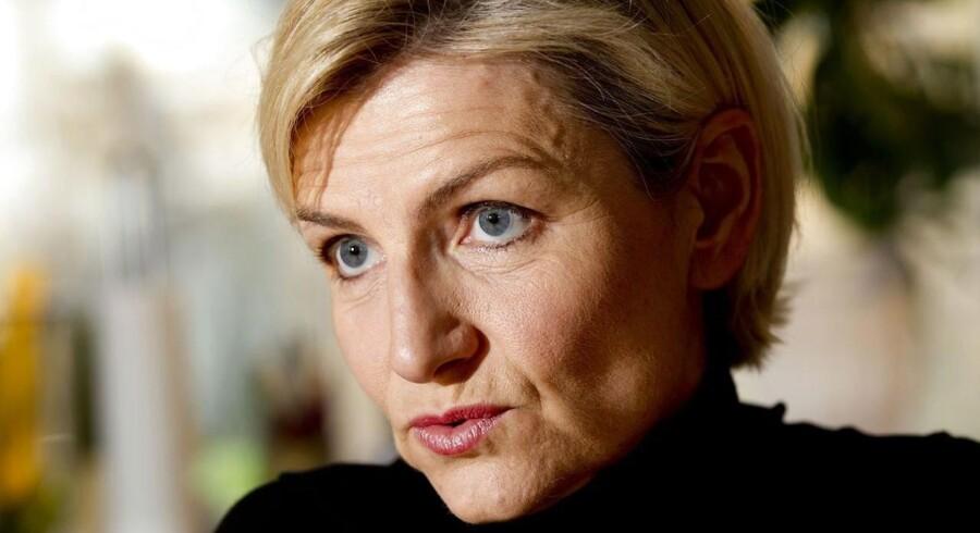 """Venstres Ulla Tørnæs læser i regeringens reformudspil et direkte """"tak for samarbejdet"""" til fagbevægelsen."""