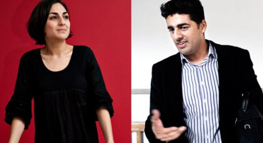 Ayfer Baykal fastholder sit nej til en havnetunnel - i modsætning til Ikram Sarwar.