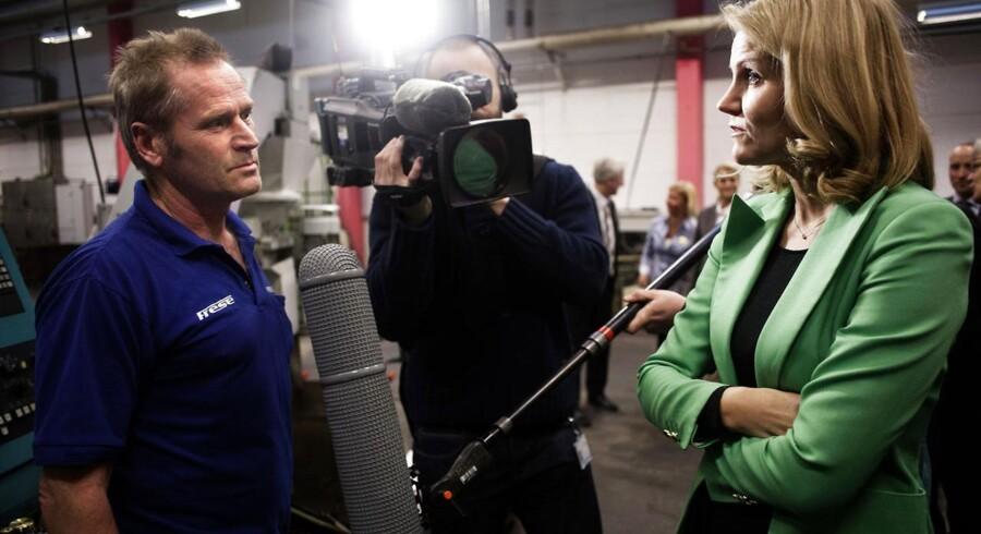 Statsminister Helle Thorning Schmidt på besøg på Frese A/S i Slagelse