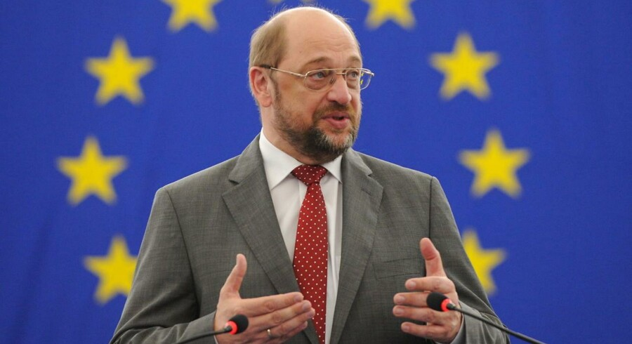 Martin Schulz, Formand for Europa-Parlamentet.
