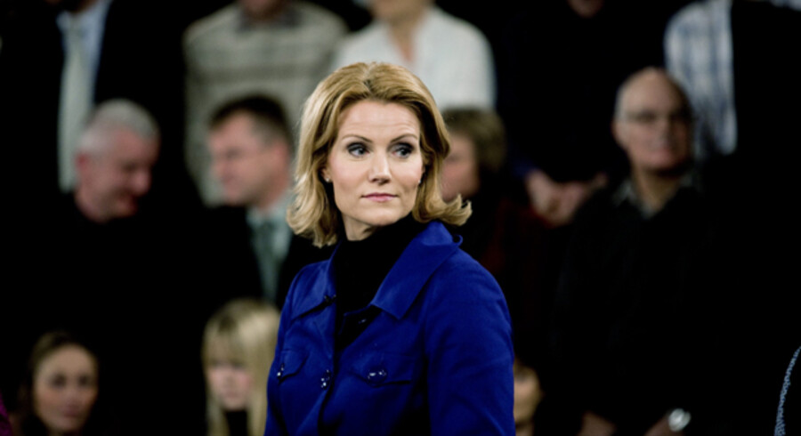 Inden den sidste konfrontation var Helle Thorning-Schmidt bagud på point. Men hun valgte ikke at trække nye emner ind i ellevte time.
