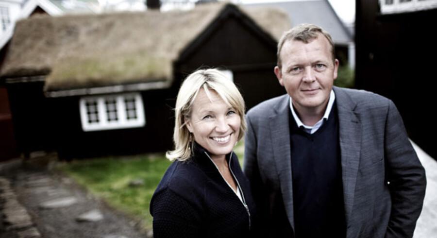 Nu gik det lige så godt. Lars Løkke og Lene Espersen blev på Venstres sommergruppemøde på Færøerne enige om en kreditpakke til dansk erhvervsliv. Nu har »burkasagen« ført til splittelse.