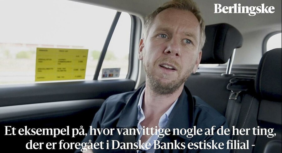Simon Bendtsen – en af journalisterne bag afdækningen af hvidvaskskandalen – er taget til Tallin i Estland. Sagens epicenter.