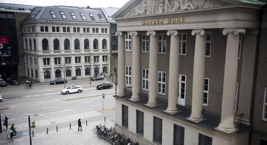 (ARKIV) Danske Bank på Kongens Nytorv.
