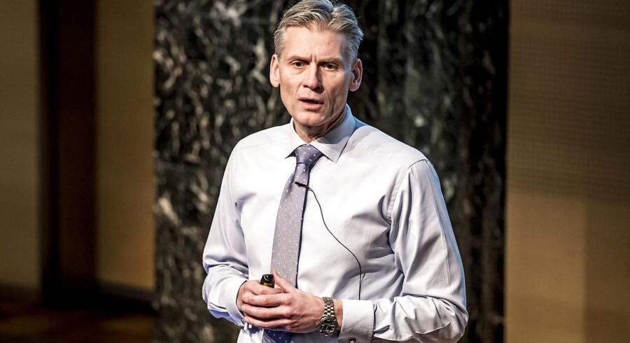 Thomas F. Borgen, direktør i Danske Bank, er en presset mand forud for bankens offentliggørelse af intern rapport om hvidvask, vurderer analytikere.