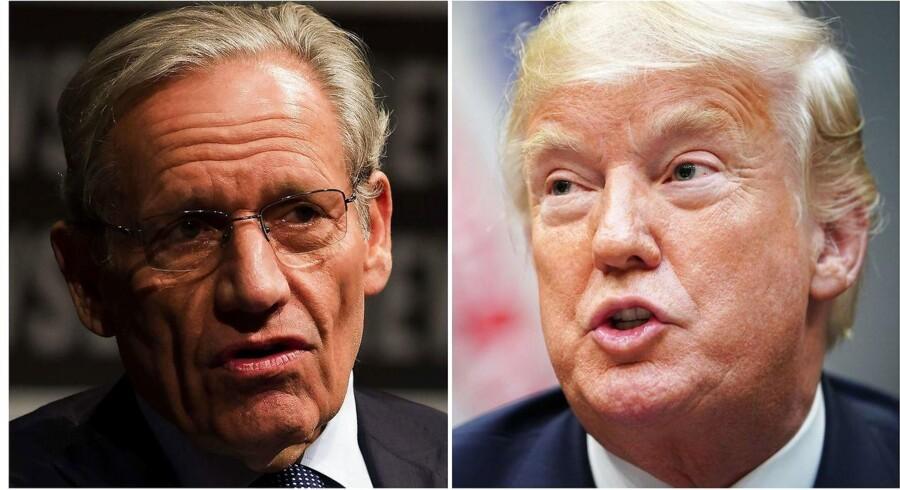 Hvem er den mest troværdige? Watergate-journalisten Bob Woodward eller præsident Donald Trump?