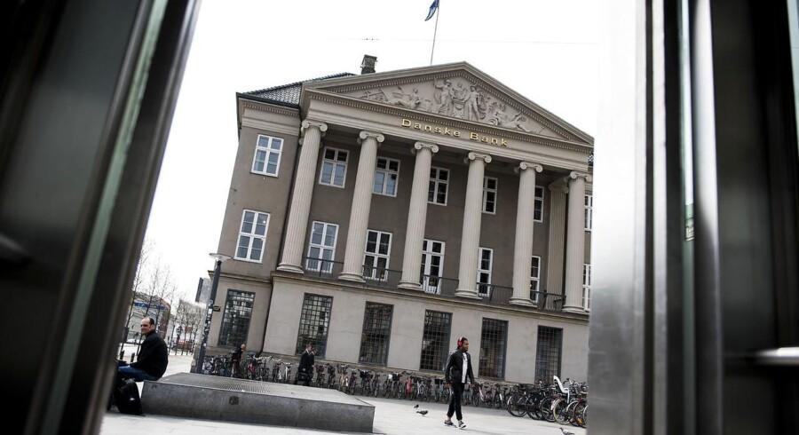 Danske Banks hovedsæde på Holmens Kanal.