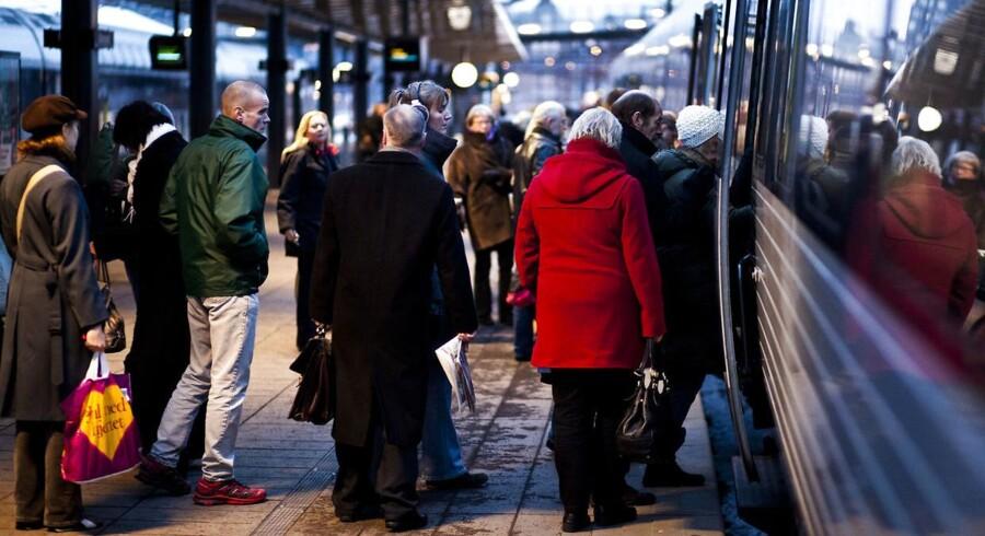Arkivfoto: Alle tog til og fra Nivå Station er aflyst tirsdag morgen, og togene til og fra Helsingør vil standse ved samtlige stationer på vejen.