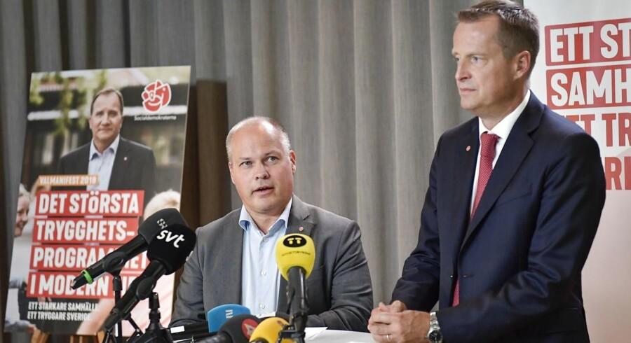 Anders Ygeman og Morgan Johansson.