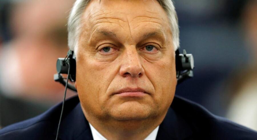 EU-Parlamentets rapport om Ungarn er en fornærmelse mod Ungarn, siger Viktor Orbán i forsvarstale.